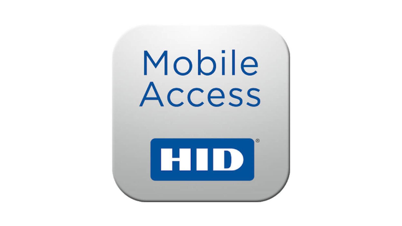 HID Mobile Access App